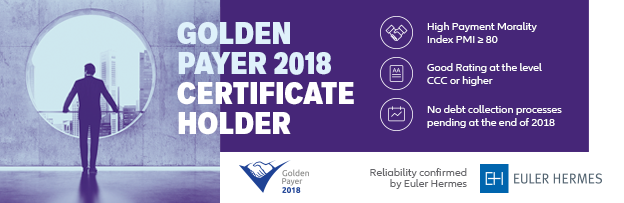 "e have been honored in the ""Golden Payer 2018"" Plebiscite"